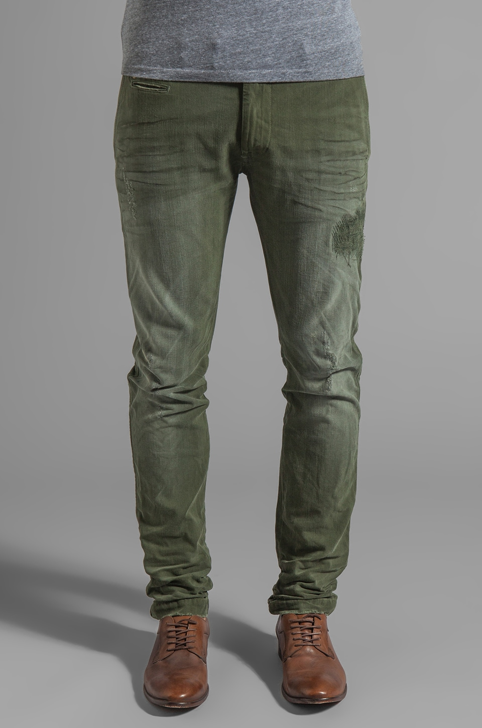 Diesel Chi-Tight Pants in Dark Grey