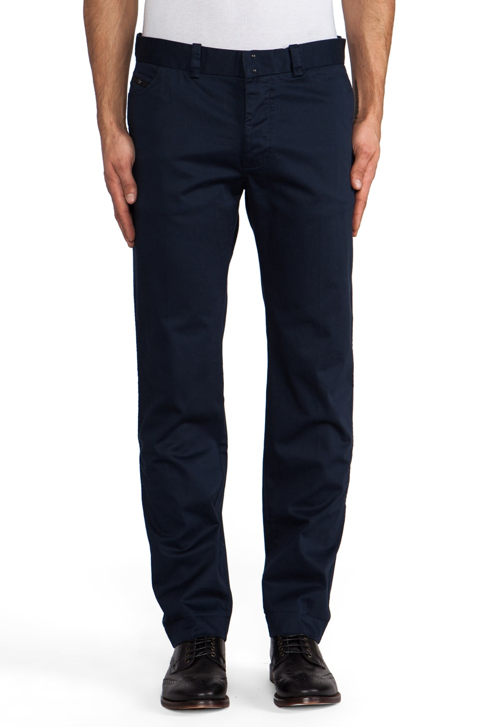 Diesel Chi Regular Chino in Navy Blue