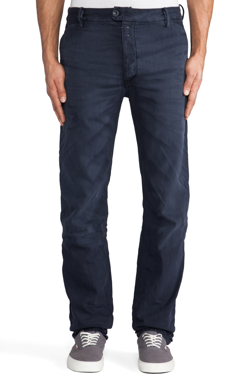 Diesel Chi Pant in Navy Blue