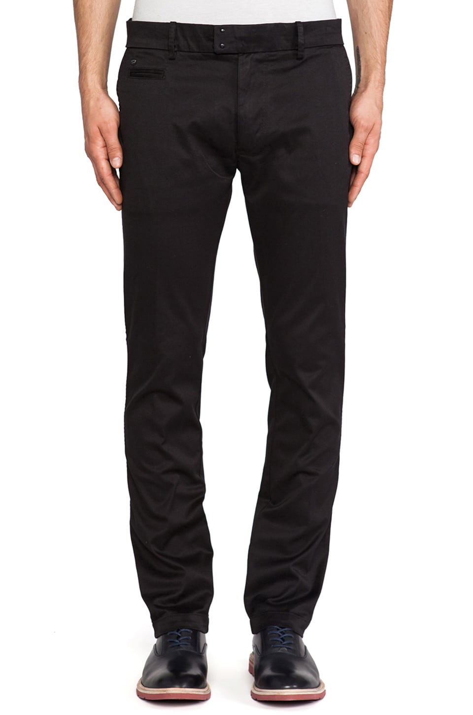 Diesel Chi-Tight Pant in Black