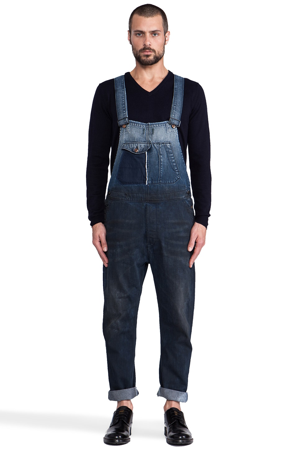 Diesel Soveral Overall in Denim
