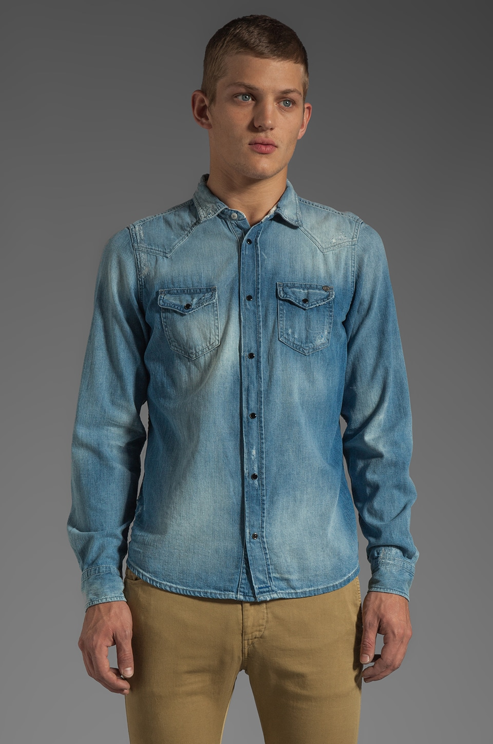 Diesel Sonora Shirt in Denim