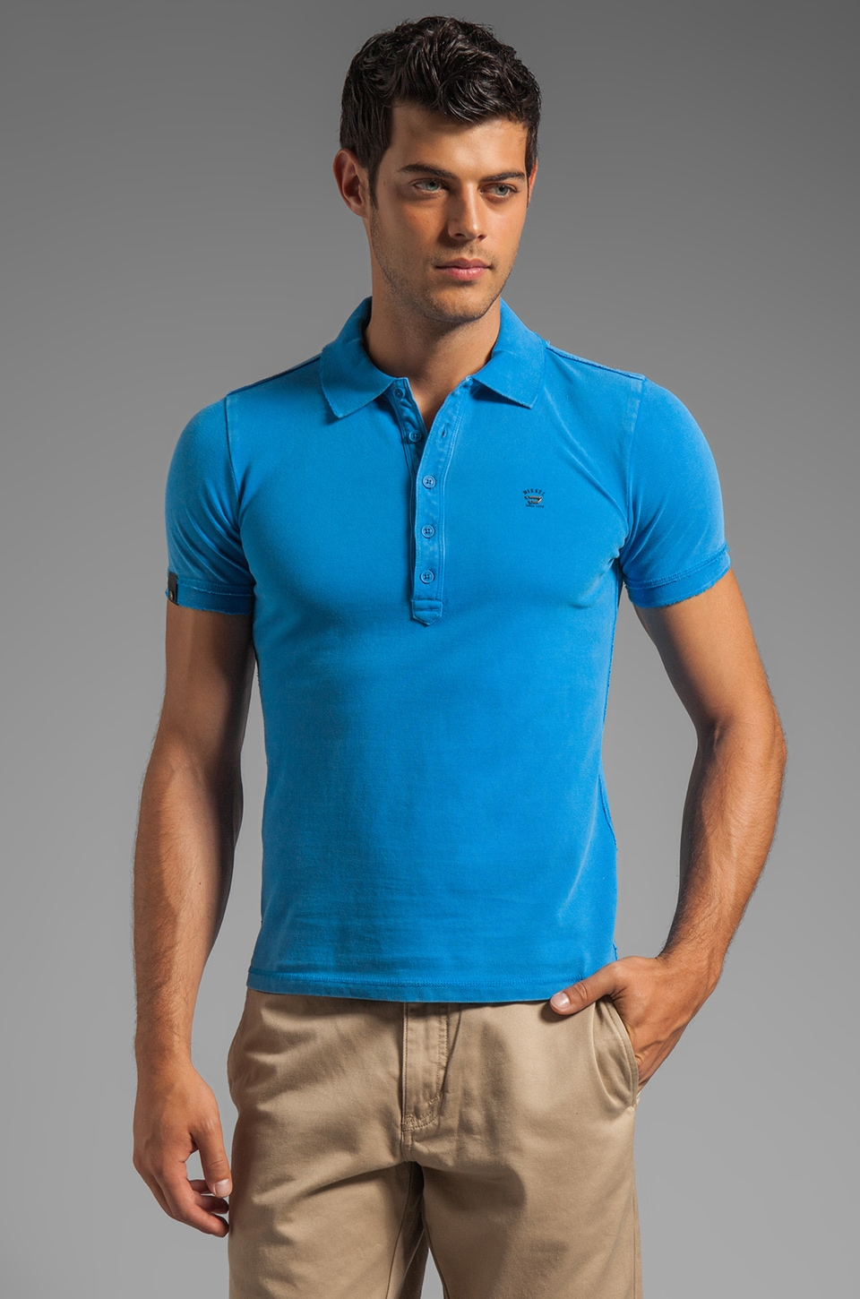 Diesel Apola Polo in Blue