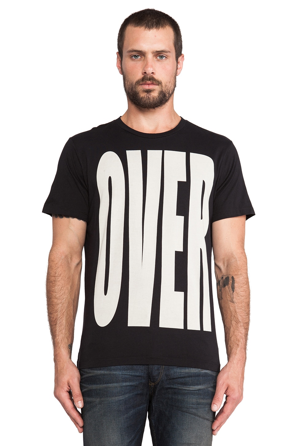 Diesel Big Tee in Black