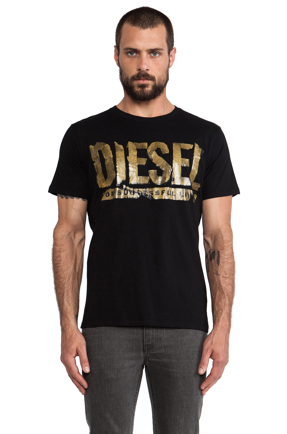 Diesel Alin Tee in Black