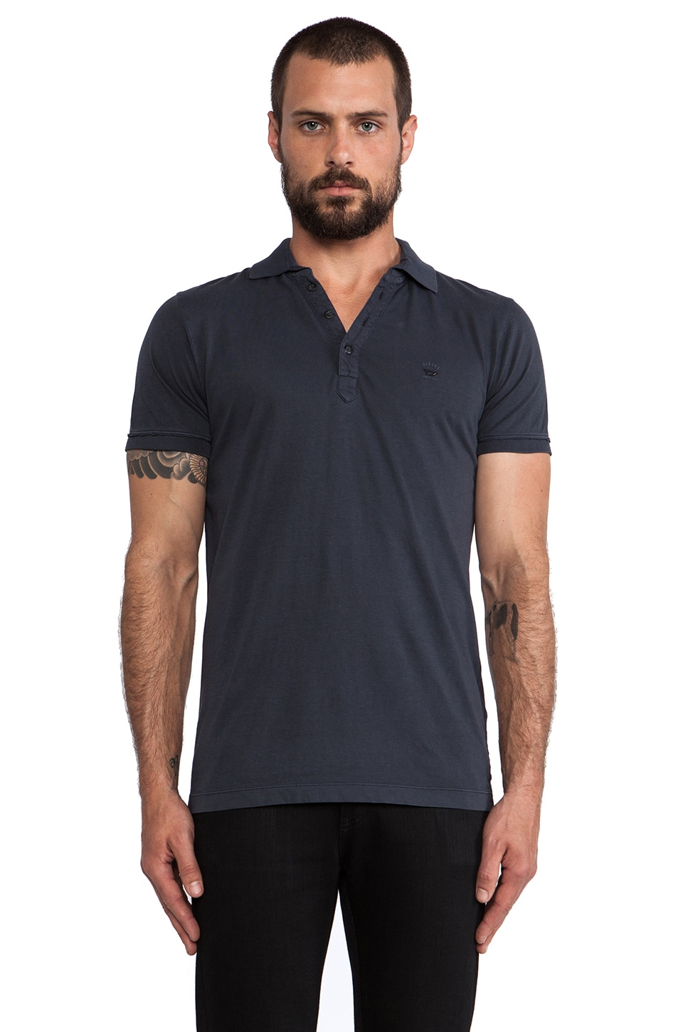 Diesel Etienne Polo in Navy