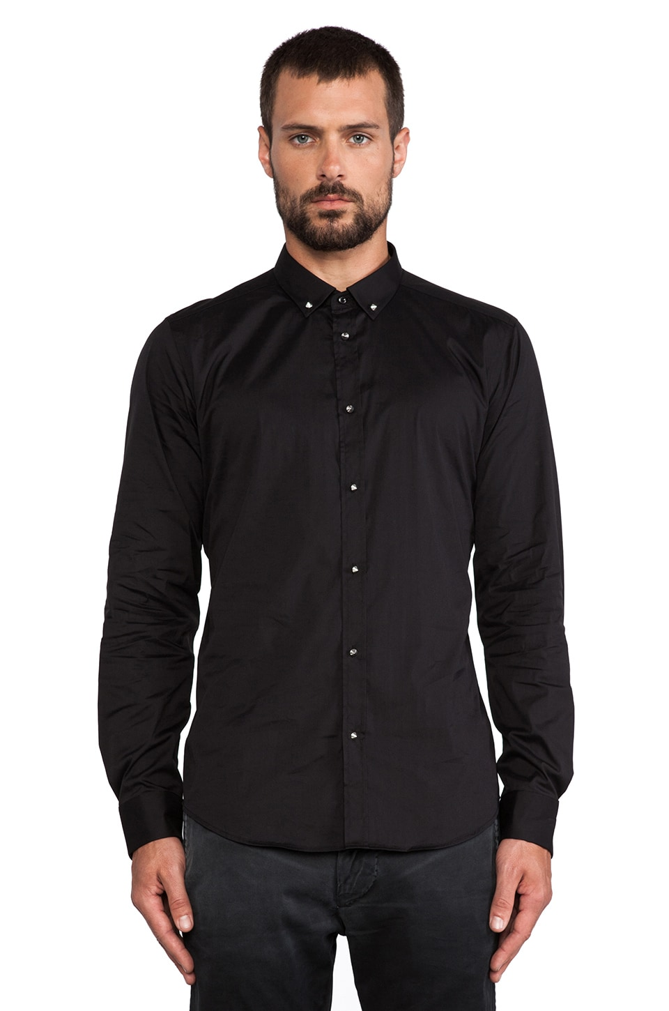 Diesel Dut Button Up in Black