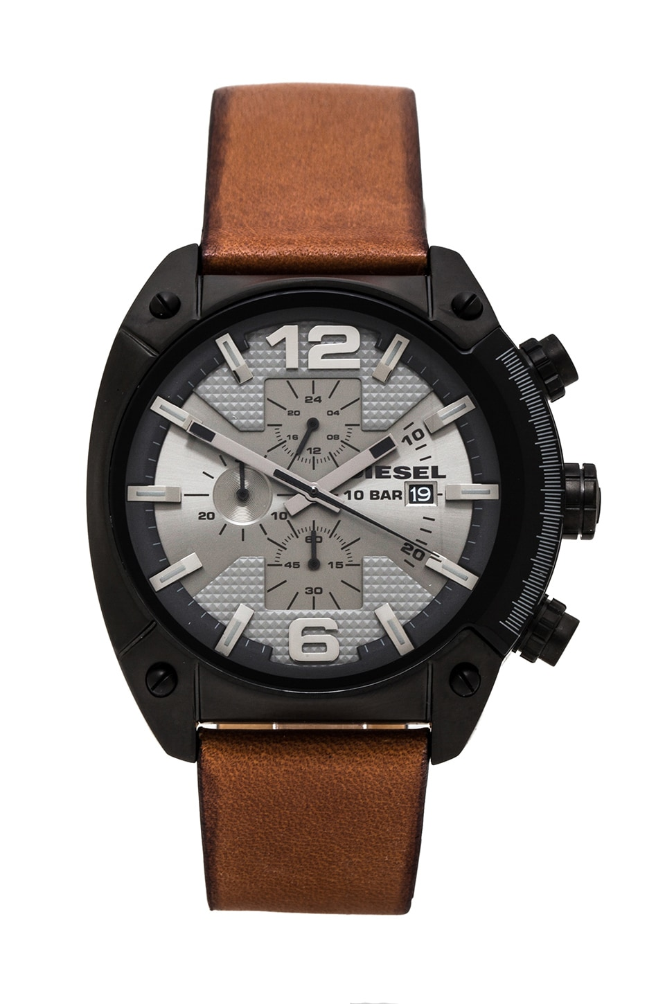 Diesel Overflow 49mm in IP Black