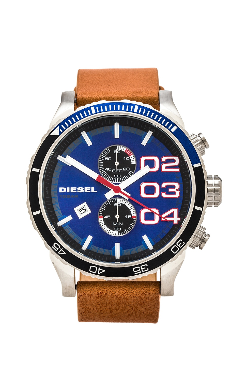 Diesel DZ4322 in Tan & Blue