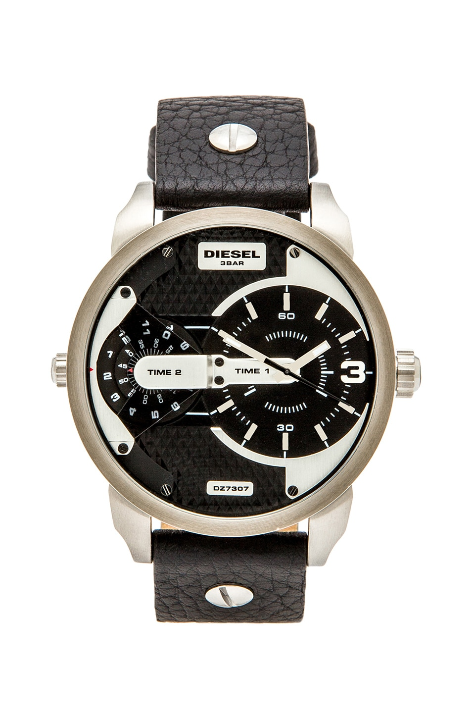 Diesel DZ7307 in Silver &  Black
