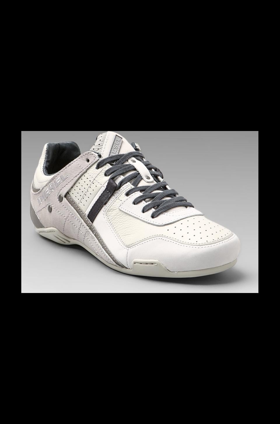 Diesel Trackkers Korbin II in White/Silver Birch/Paloma