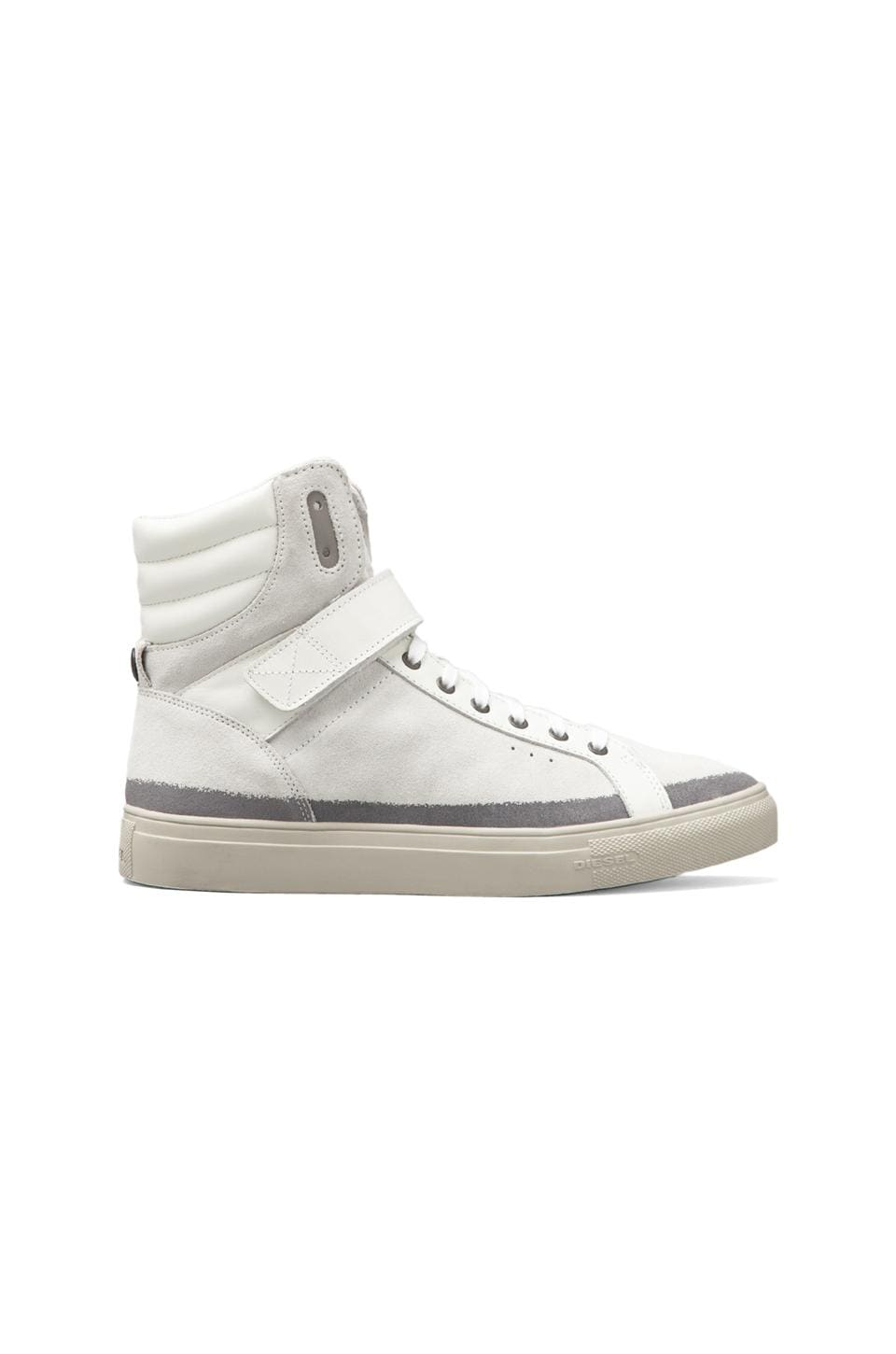 Diesel Moonlight Eclipse Hi-Top Sneaker in White