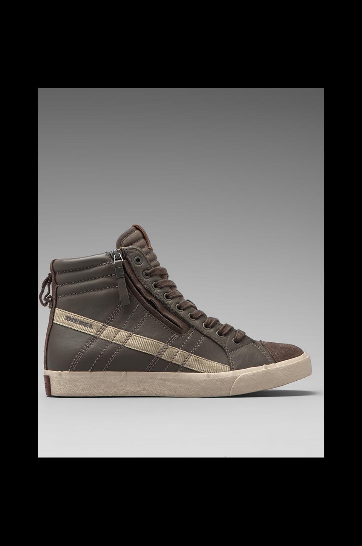 Diesel D-Velows D-String Sneaker in Bungee Cord/Cobblestone