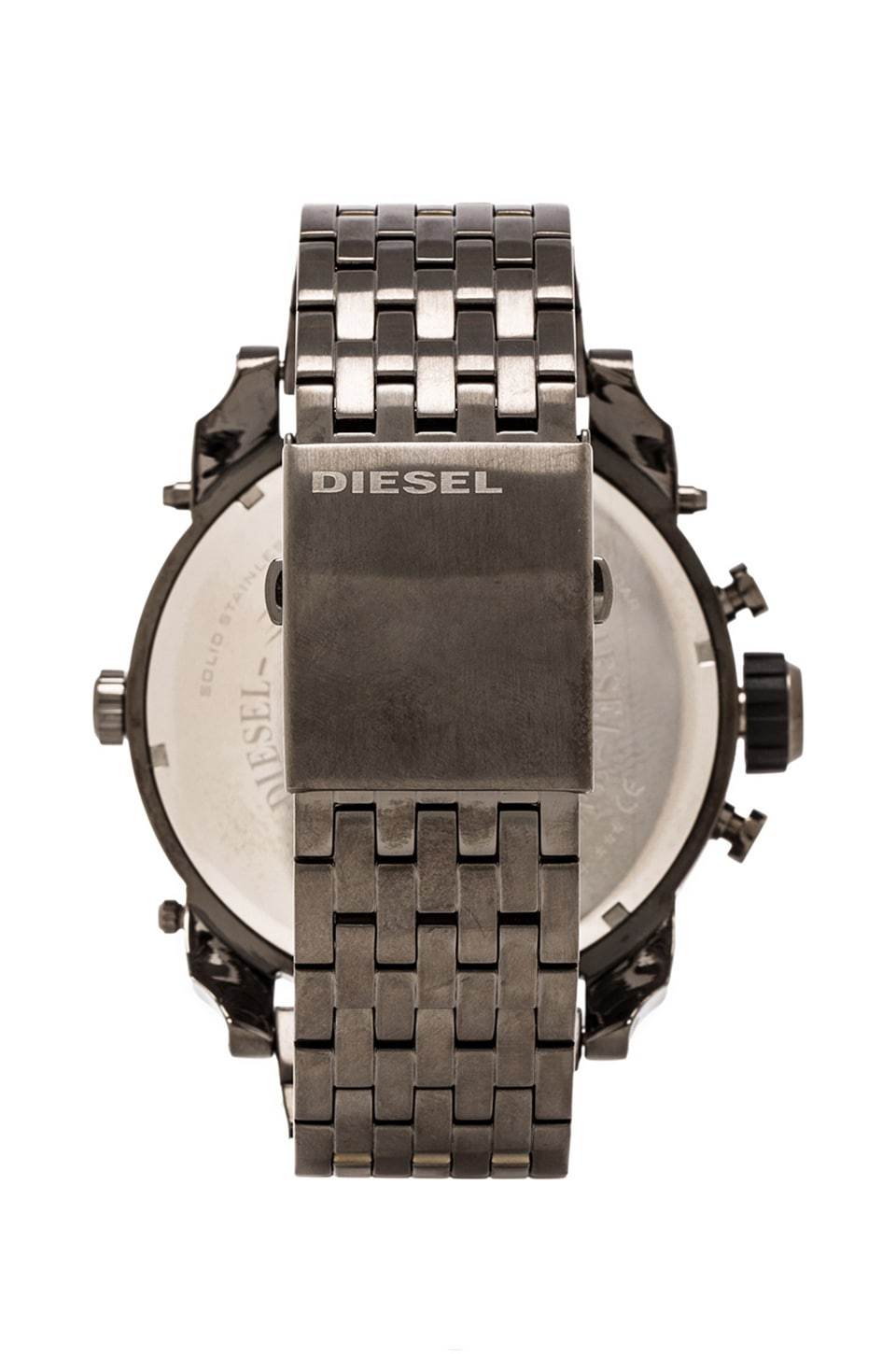 Diesel Mr Daddy DZ7247 in Gunmetal IP