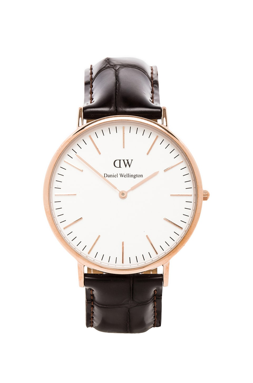Daniel Wellington York 40mm in Rose Gold