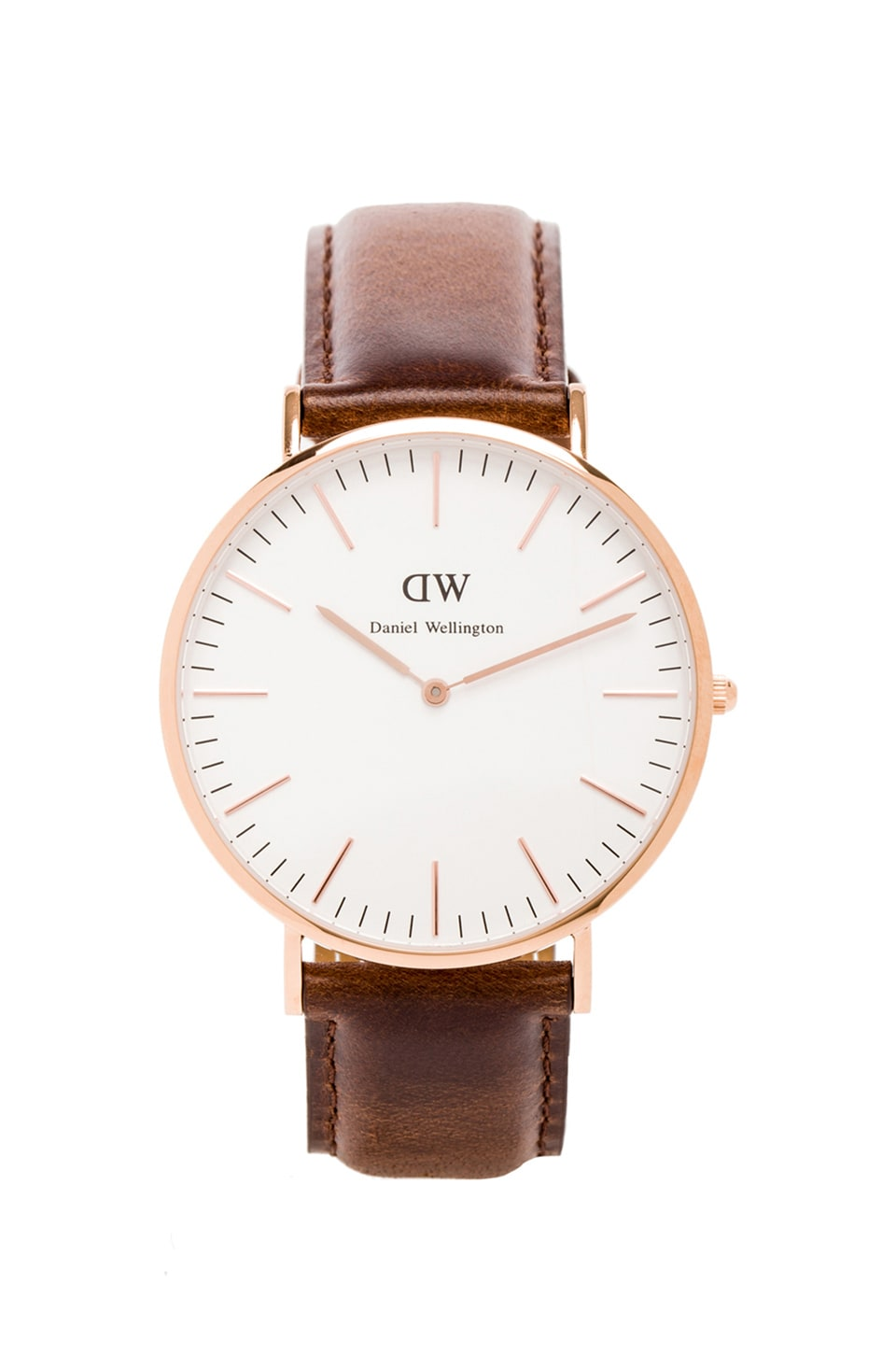 Daniel Wellington Bristol 40mm in 로즈골드