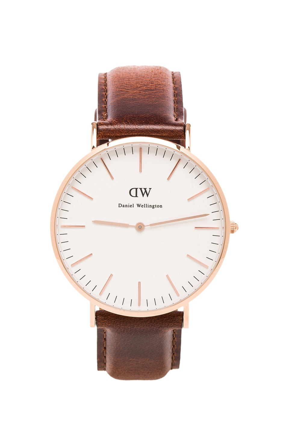 Daniel Wellington St Mawes 40mm in Rosegold