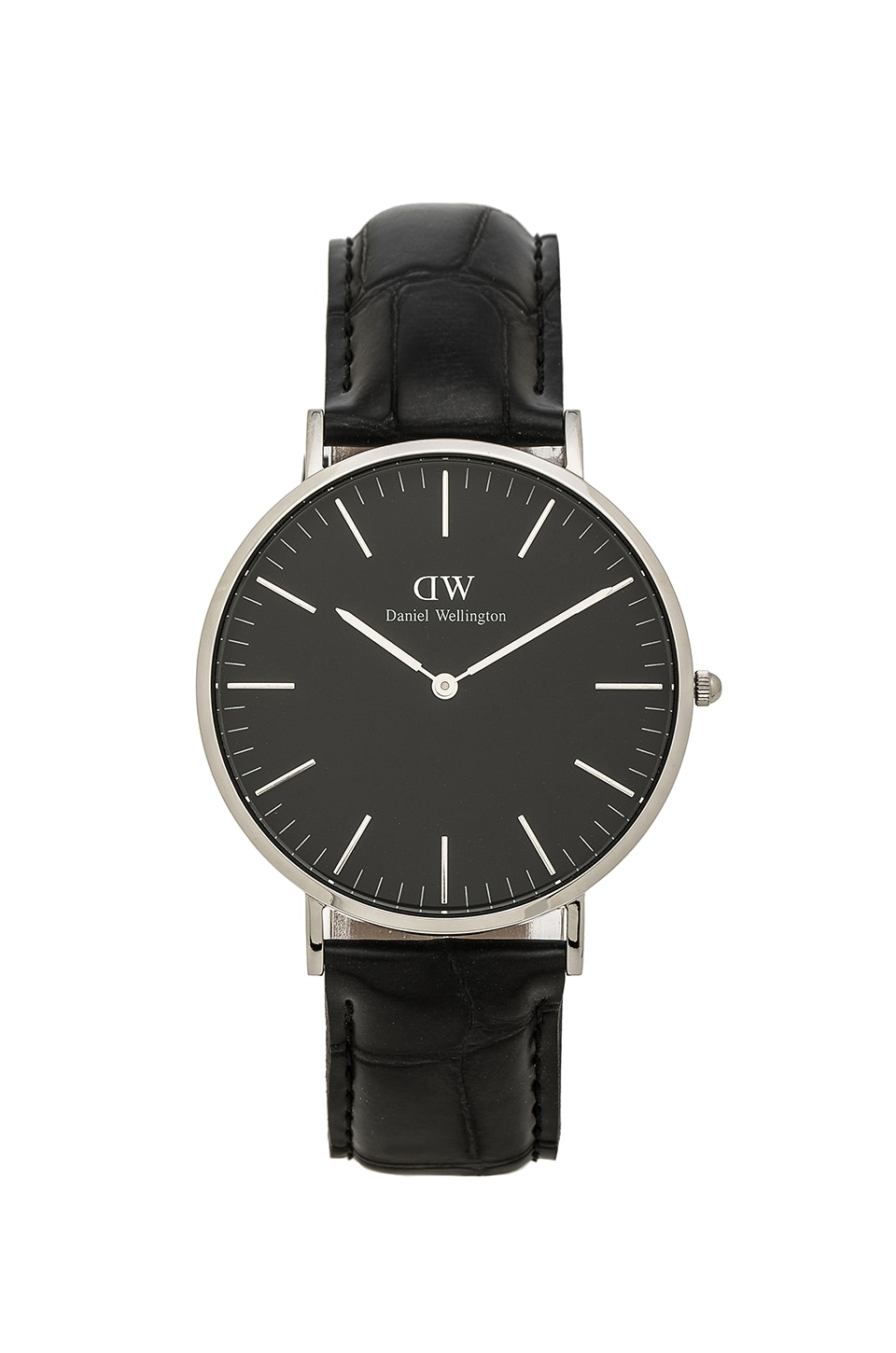 Daniel Wellington Classic Reading 40mm in Silver