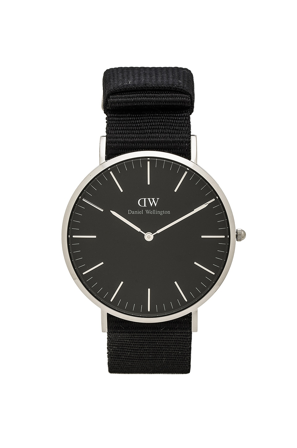 Daniel Wellington Classic Cornwall 40mm in Silver