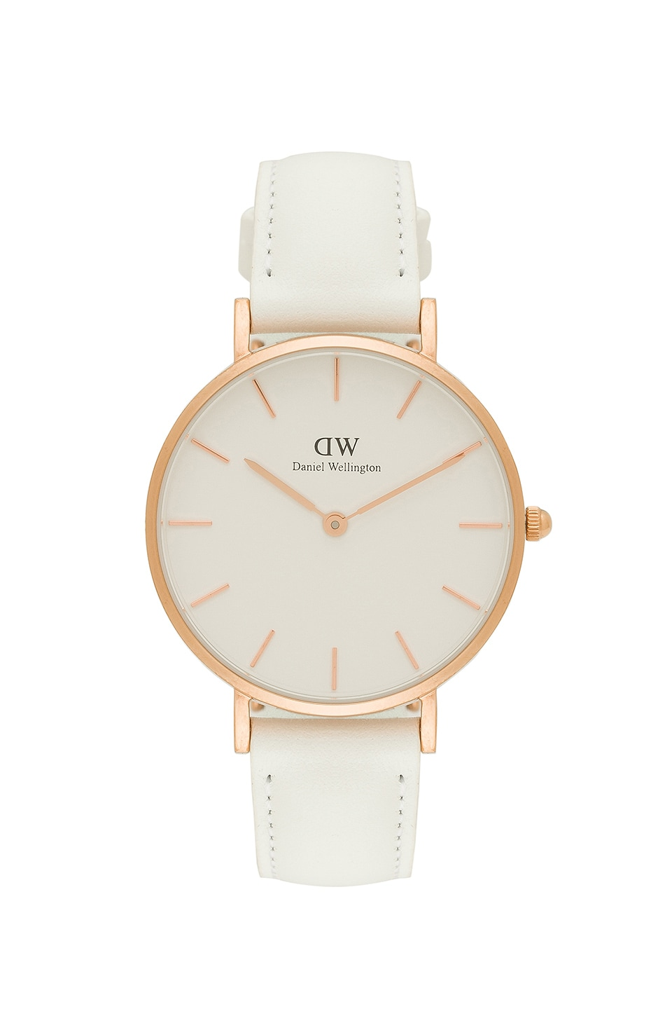 Daniel Wellington Petite Bondi 32mm Watch in White & Rose Gold