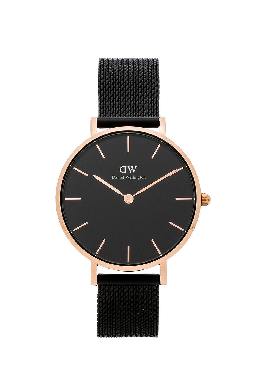 Daniel Wellington Classic Petite Ashfield Watch in Black