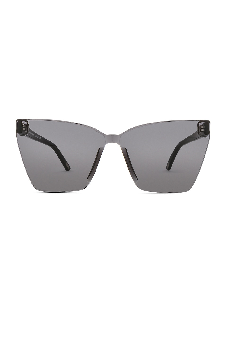 fd4913c167 DIFF EYEWEAR Goldie in Black   Dark Smoke