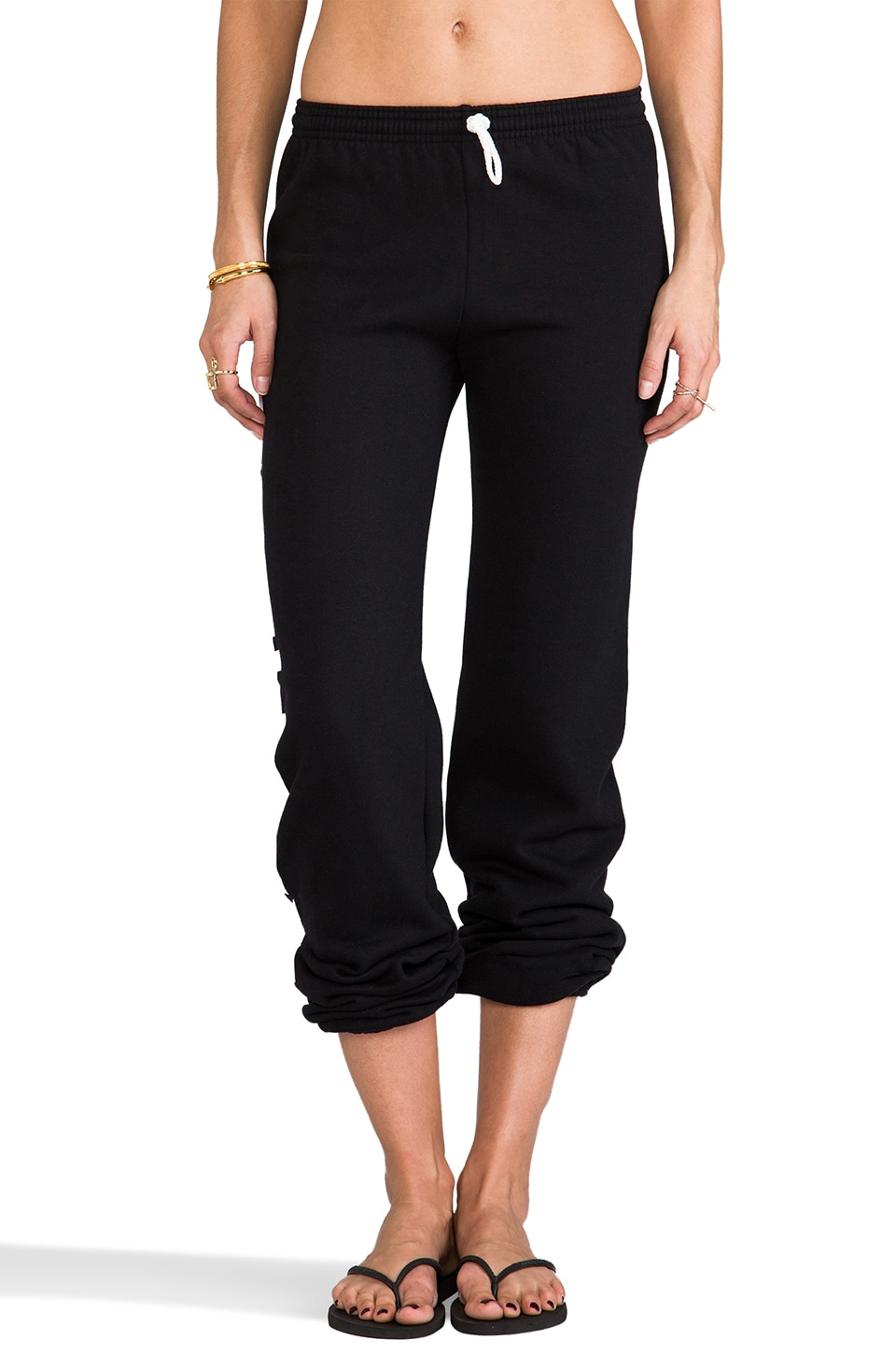 Dimepiece Fatal Sweatpants in Black