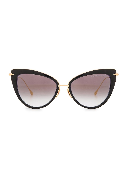 2c91352a60 Dita Heartbreaker Sunglasses in Black   18K Gold