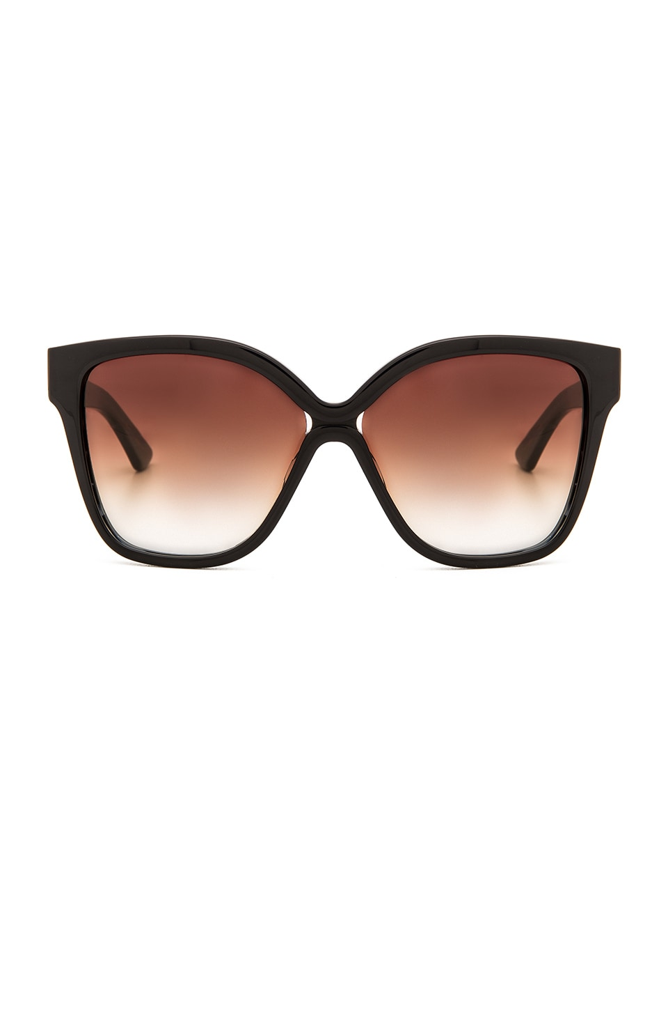 Dita Paradis Sunglasses in Navy & Dark Brown