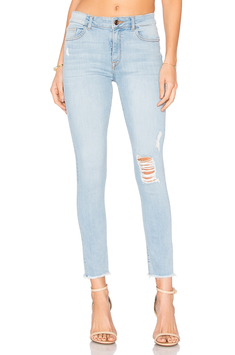 DL1961 Farrow High Rise Skinny in Trophy