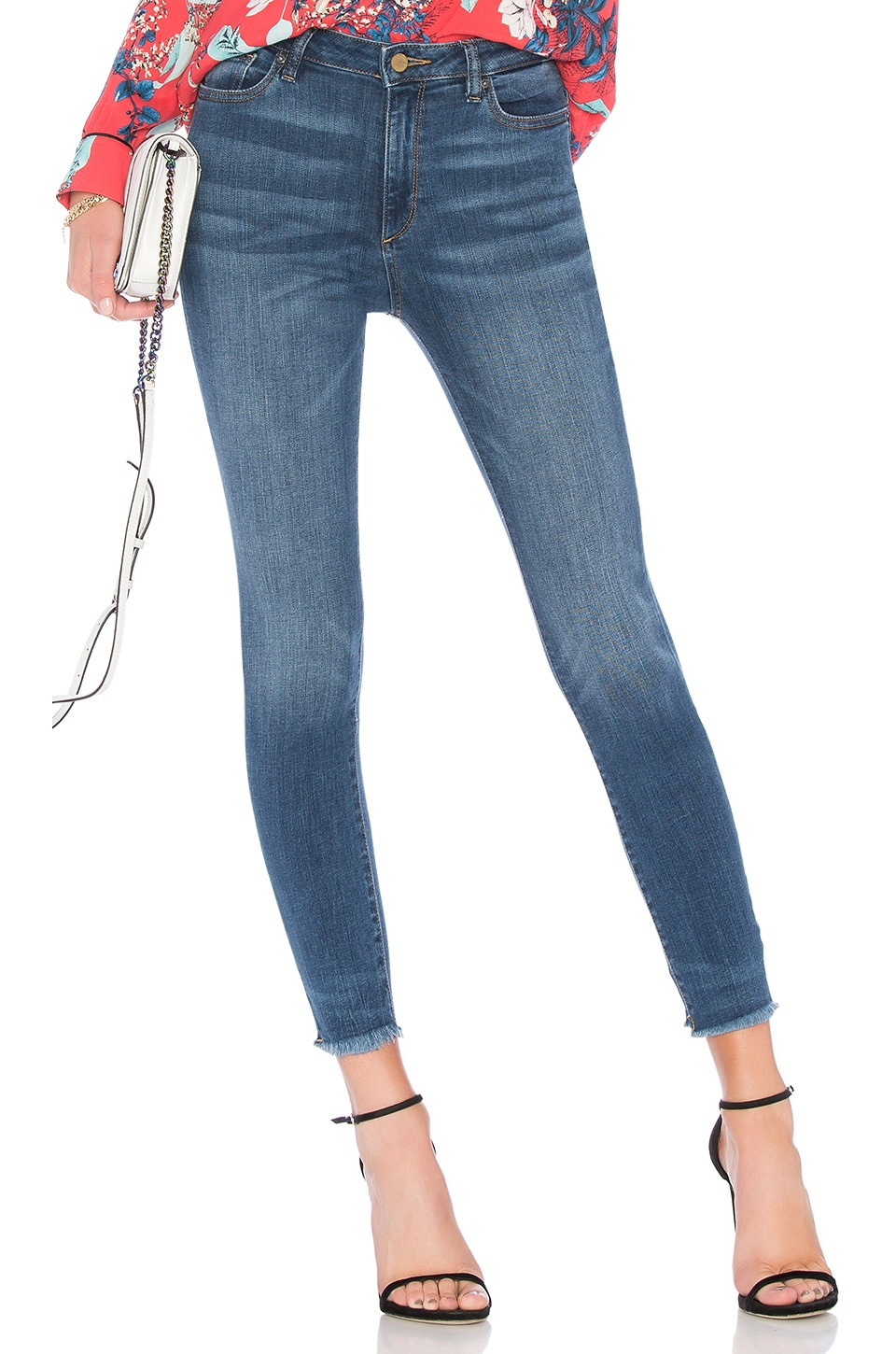 DL1961 CHRISSY TRIMTONE HIGH RISE SKINNY