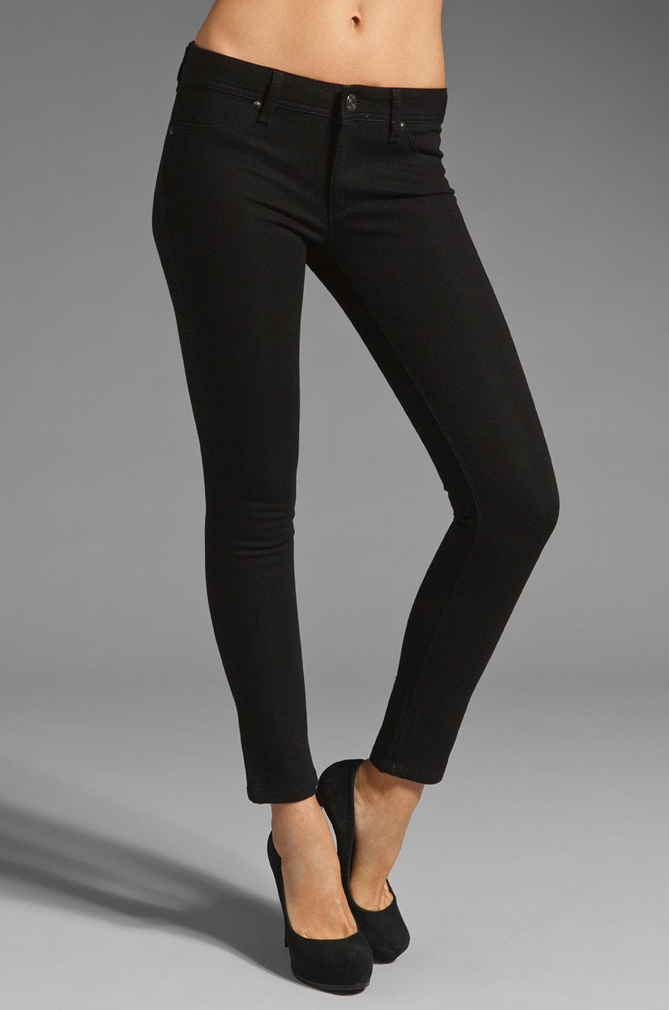 DL1961 Emma Legging in Onyx