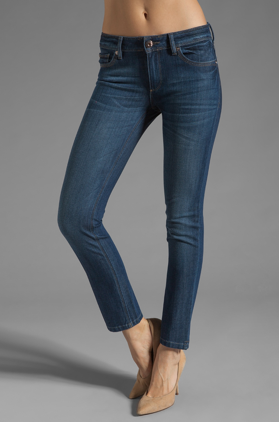 DL1961 Angel Ankle Skinny in Ashbury