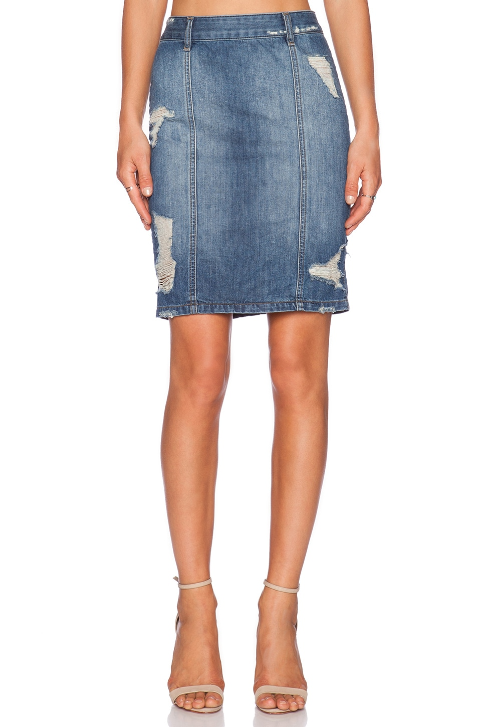 DL1961 Cleo Skirt in Calamity