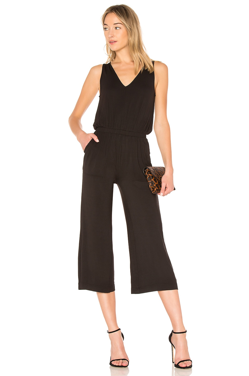 David Lerner WIDE LEG JUMPSUIT