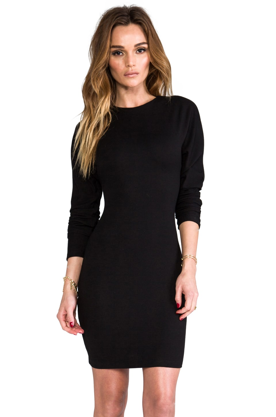David Lerner The Ludlow Dress in Black