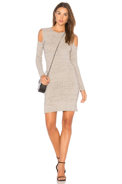 Cold Shoulder Mini Dress by David Lerner