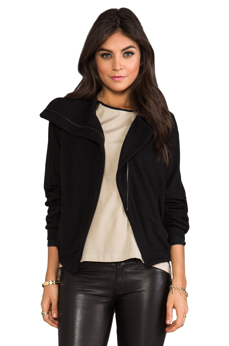 David Lerner The Perry Jacket in Black