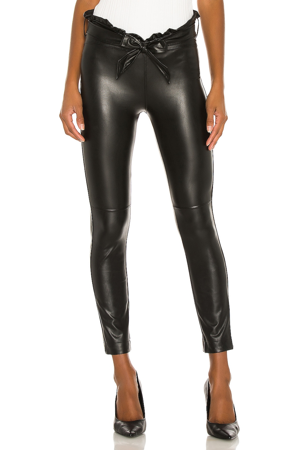 David Lerner High Rise Legging in Classic Black