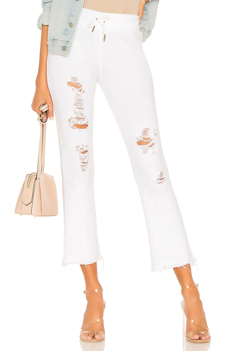 Ripped Flared Lounge Pant