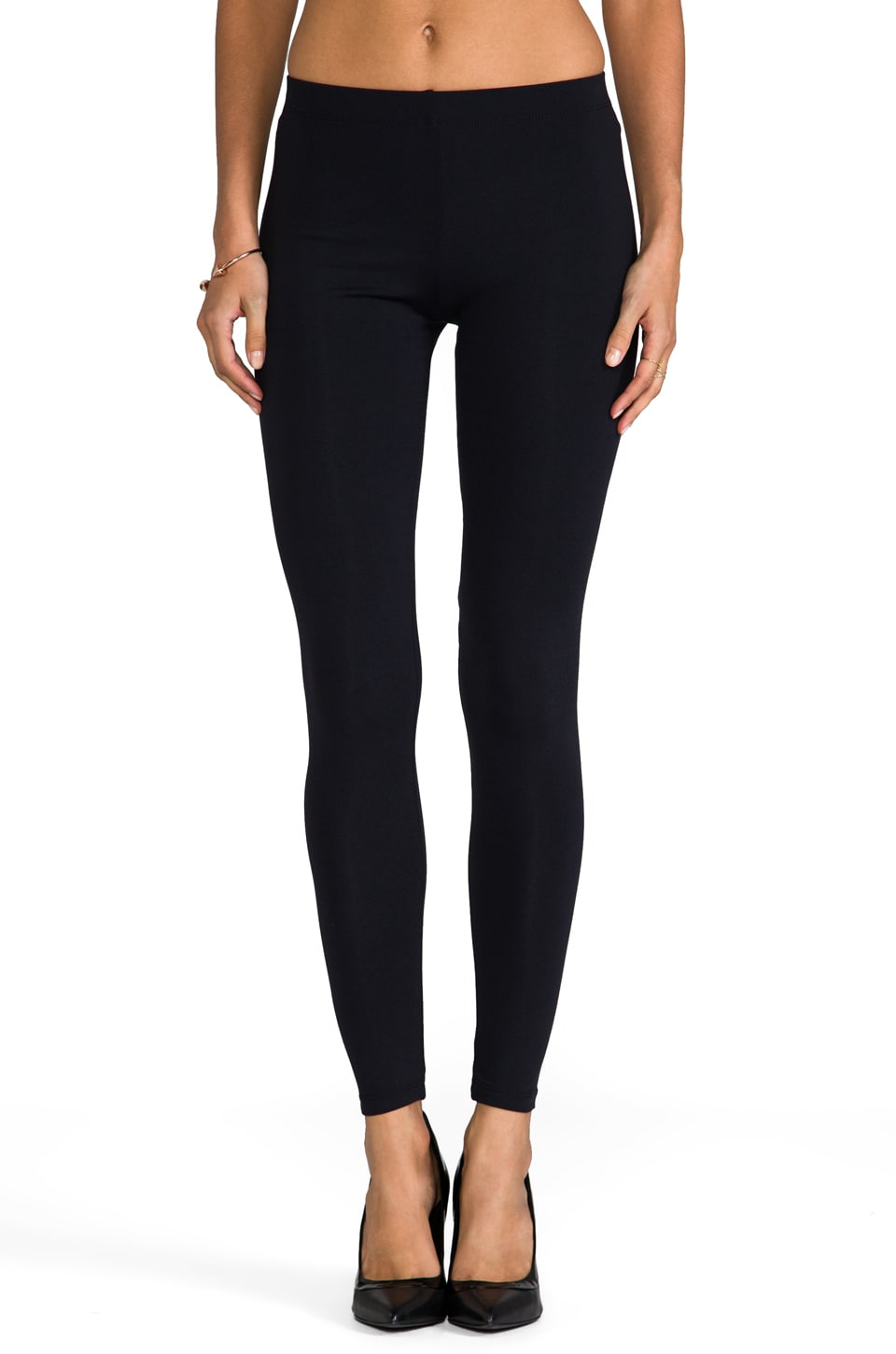 David Lerner Basic Legging in Black