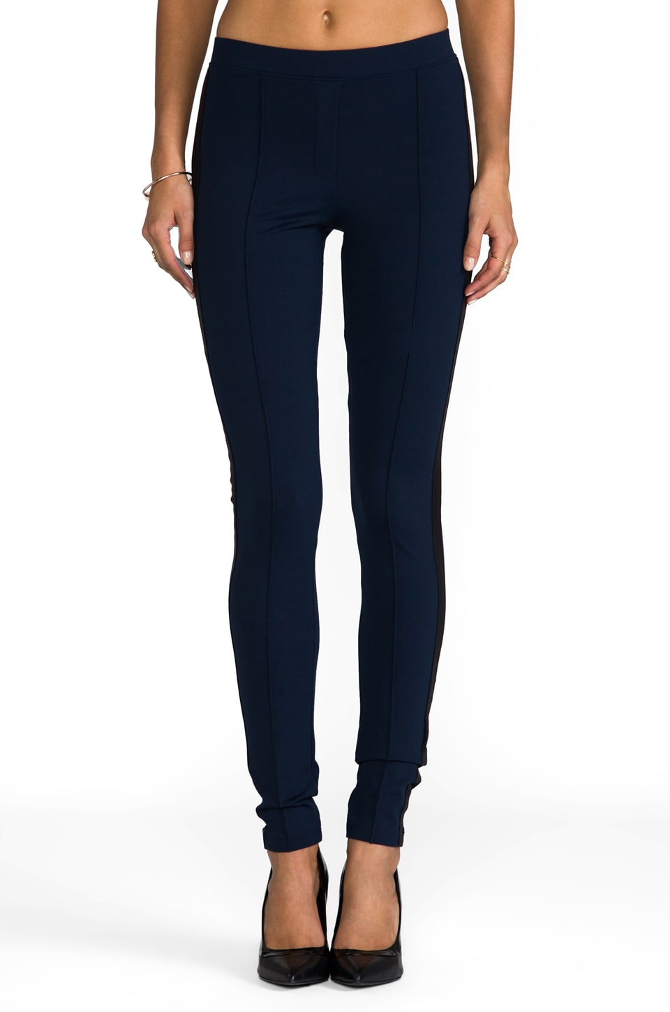 David Lerner The Astor Legging in Navy/Black