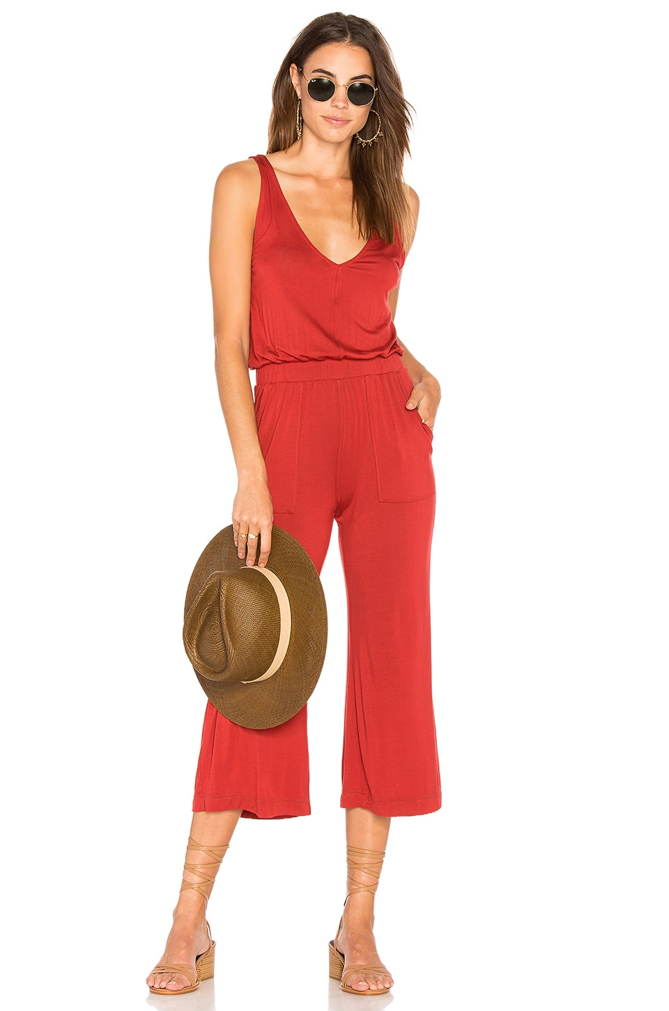 Wide Leg Jumpsuit by David Lerner