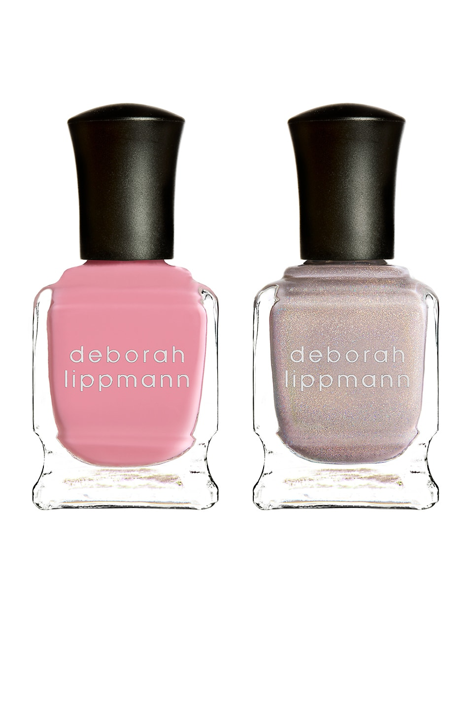 Deborah Lippmann HOLOGRAM Girl Nail Polish Pack in Dirty Little Secret & Beauty School Dropout