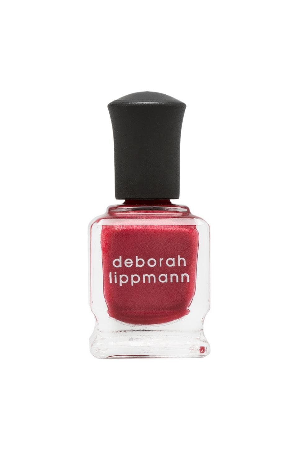 Deborah Lippmann Silky Matte Finish Nail Lacquer in Red Silk Boxers