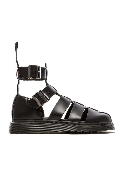 Dr. Martens Geraldo Ankle Stap Sandal in Black
