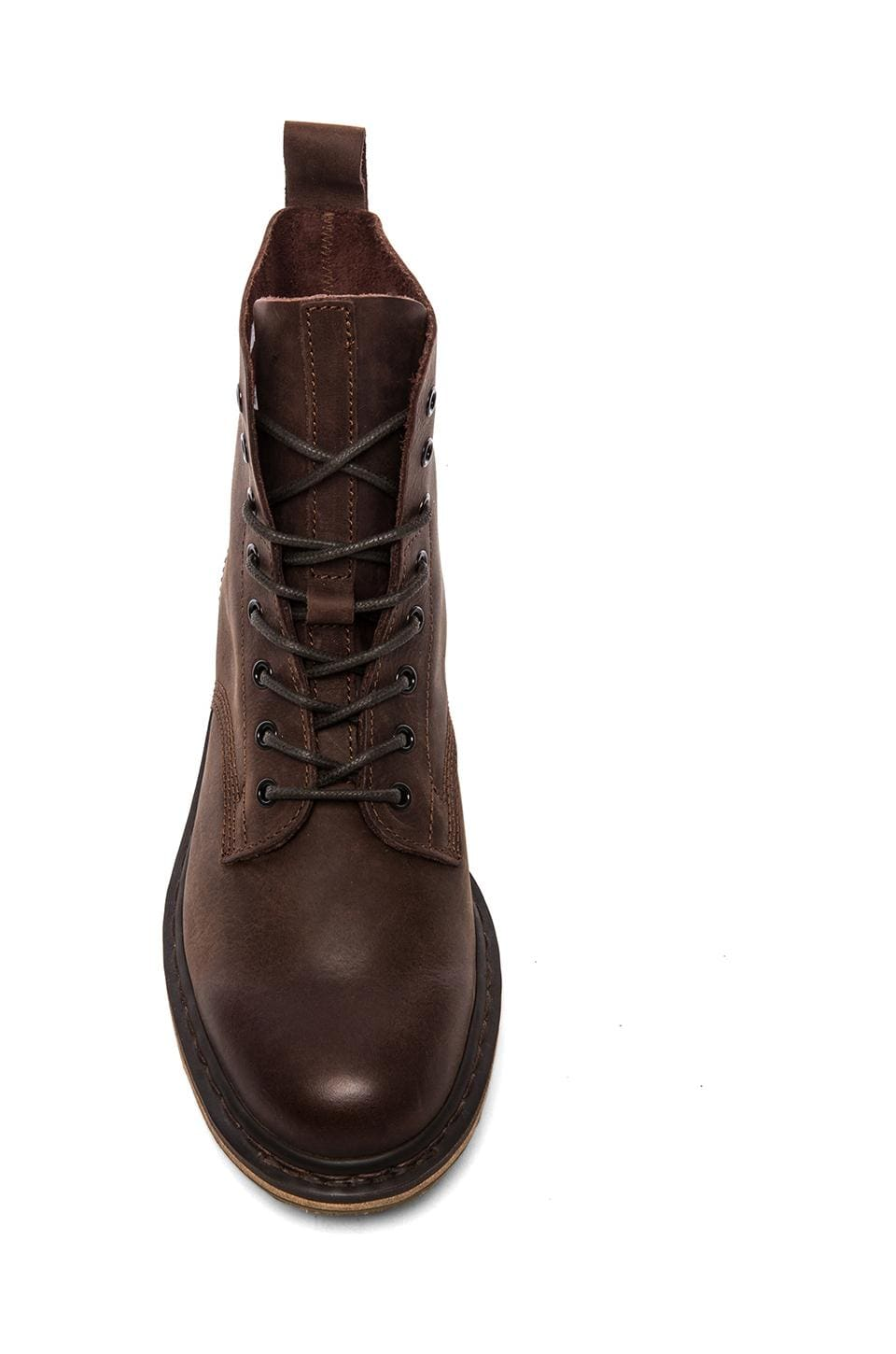Dr. Martens Nero 8-Tie Boot in Brown