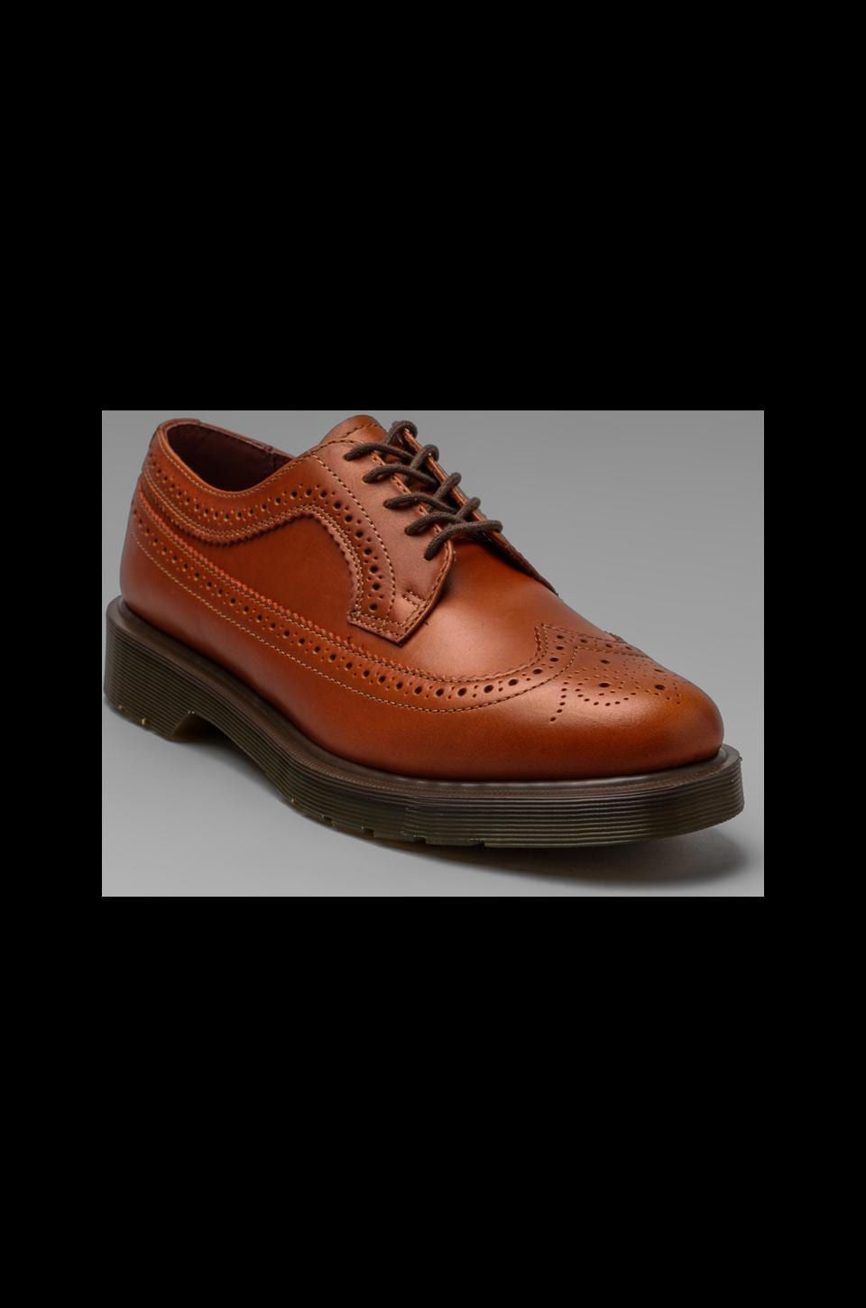Dr. Martens 3989 Brogue Shoe in English Tan
