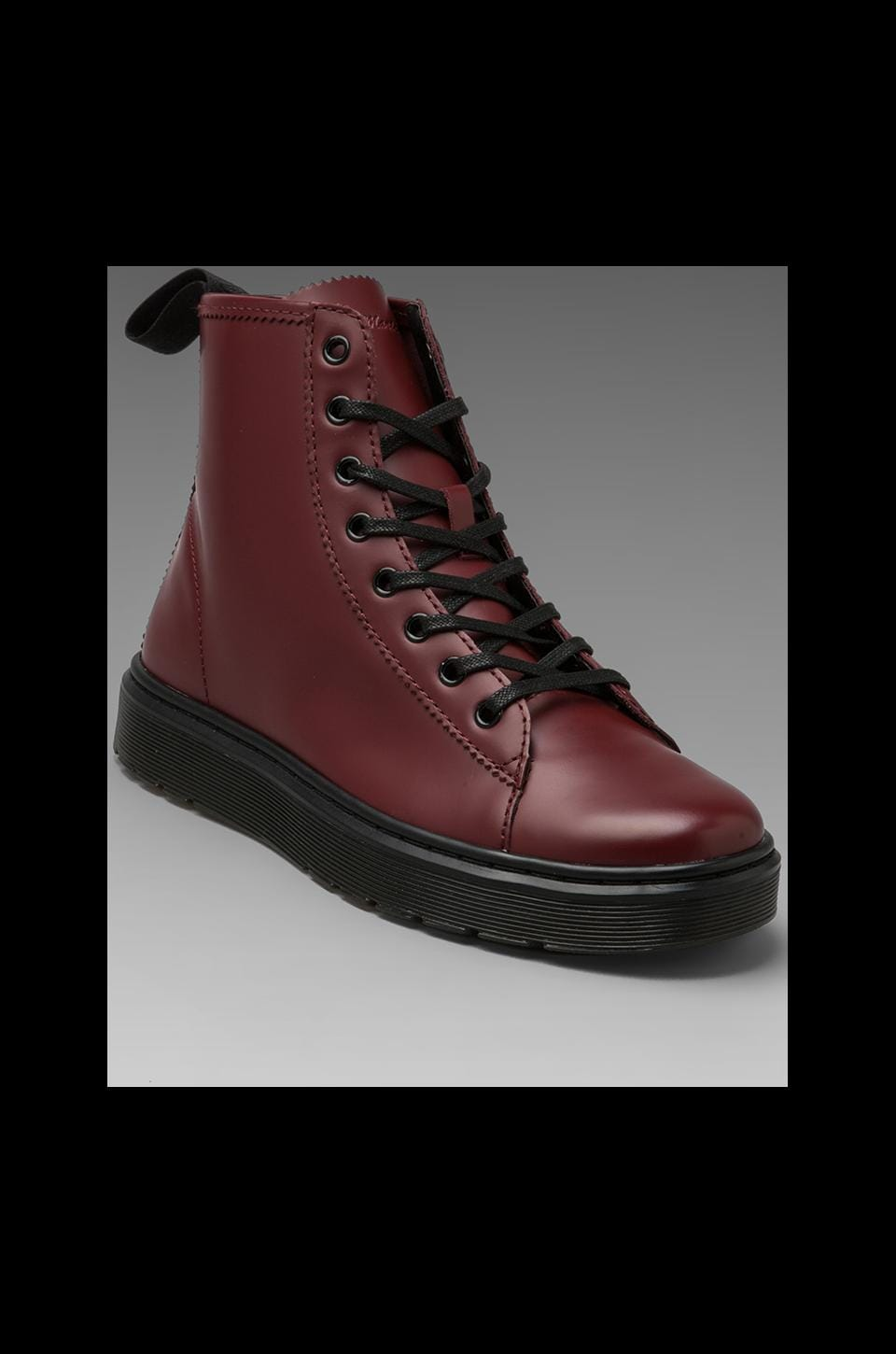 Dr. Martens Mayer Lace to Toe Boot in Cherry Red
