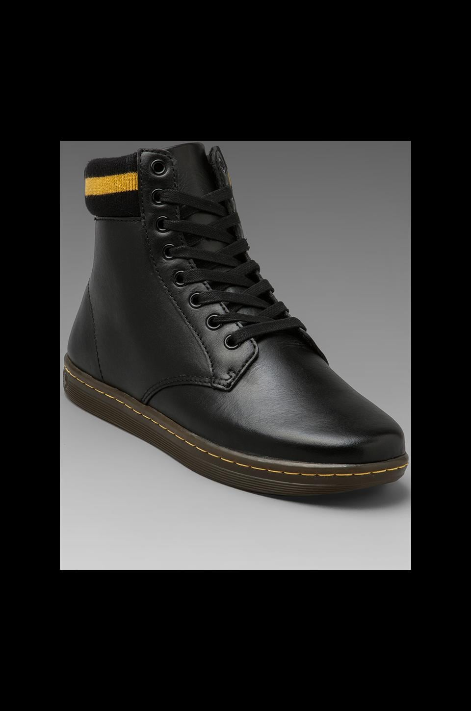 Dr. Martens Martin 8-Eye Cuff Boot in Black